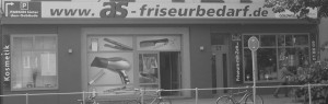 Die Filiale von as-friseurbedarf an der Bahrenfelder Chaussee in Hamburg