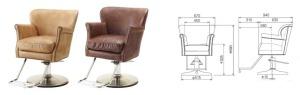 DUX Styling Chair - Friseurstuhl _ Takara Belmont