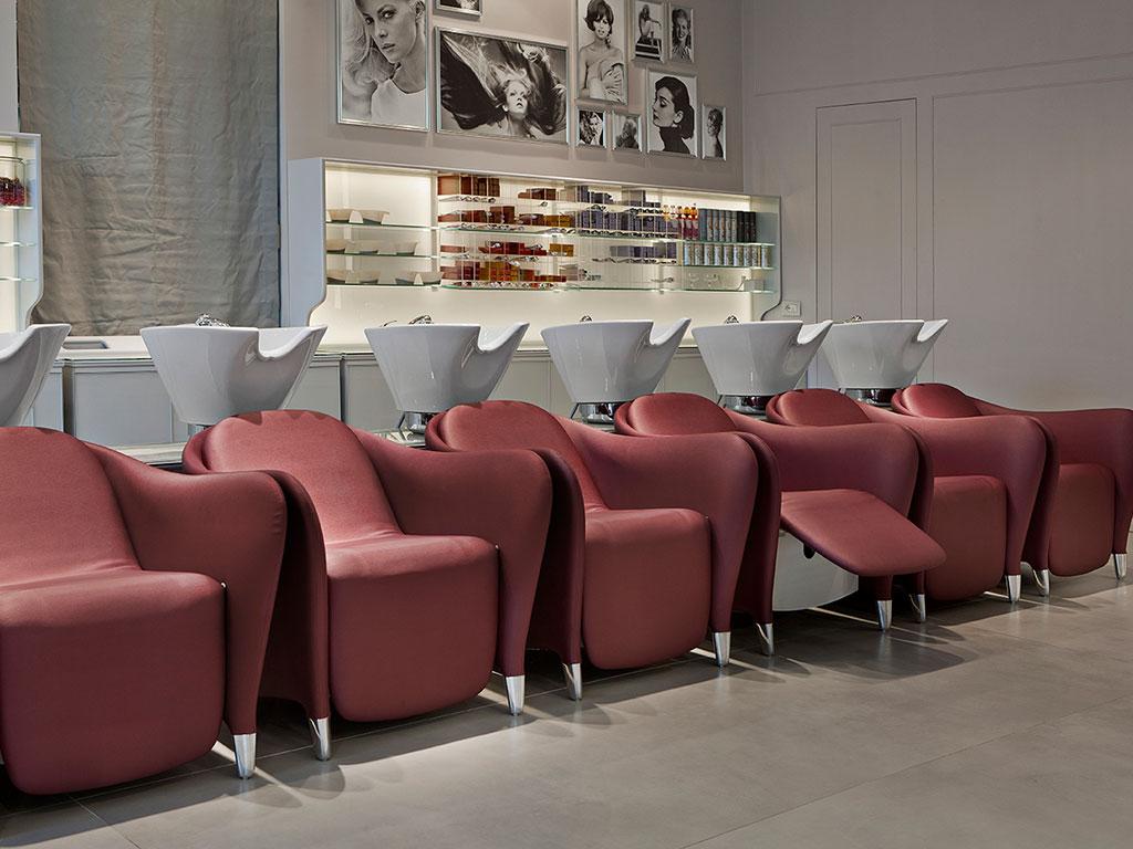 Maletti Saloneinrichtung Friseur
