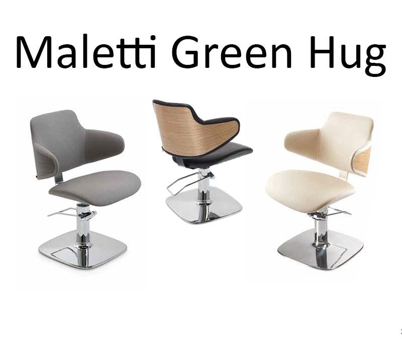 Maletti Green Hug Friseurstuhl